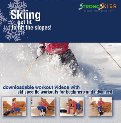Fit Skiing cover - strengthen your knees for skiing