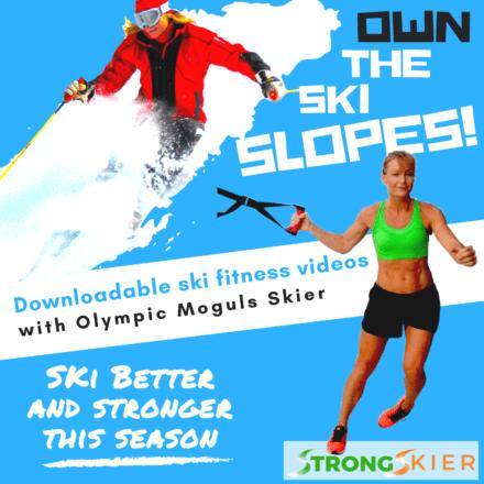 OWN the ski slopes -against knee pain skiing